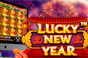 Lucky New Year - новинка от Pragmatic Play