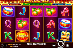 Pragmatic Play презентовал слот Lucky New Year