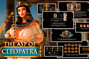 The Asp of Cleopatra от Red Rake Gaming